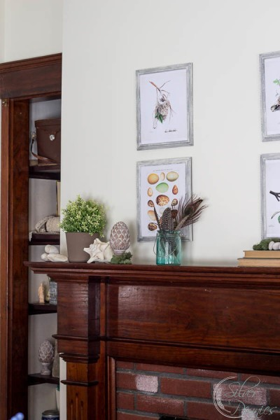 Creating a gallery wall for spring