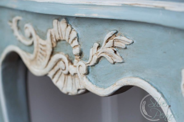 Duck Egg Blue and Old White Chalk Paint