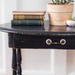A Black Table Named Hazel