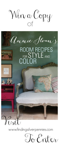 Win a Copy of Annie Sloans Room Recipes