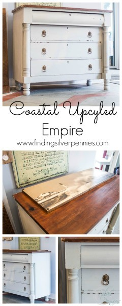 Coastal Upcycled Empire Finding Silver Pennies