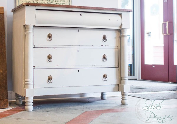 Empire Dresser painted in Mora Milk Paint
