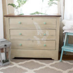 A Vintage Dresser Named Fern (Before & After)
