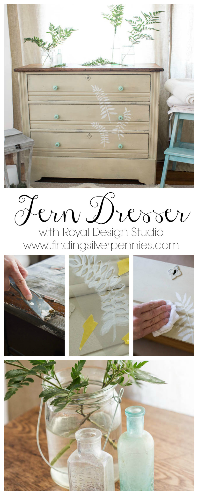 Fern Dresser by Finding Silver Pennies