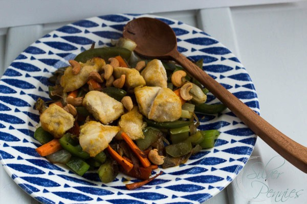 Glazed Chicken Stir Fry with Polders Old World Spoon