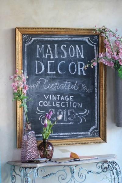 Maison Decor Vignette Photo by Matthew Mead