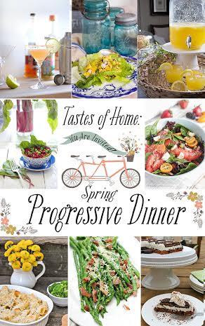 Progressive Dinner Button