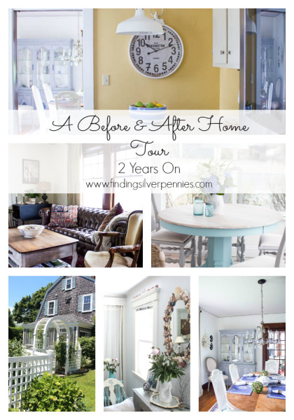 Before and After Home Tour two years of makeovers with sources