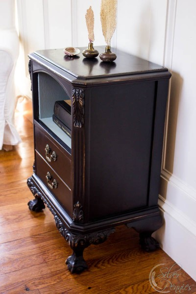 Side View of the Emma Bed Side Table