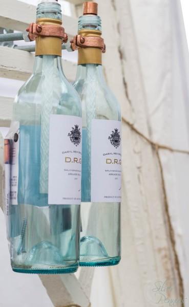 Birch Paper Wine Bottle Torches