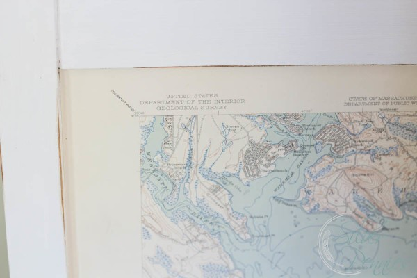 Close Up Nautical Charts