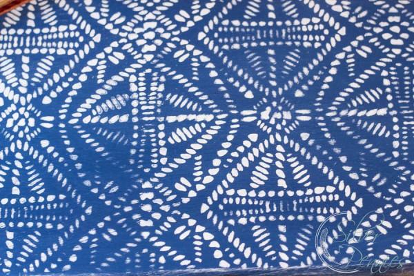 Close Up of Batik Stencil