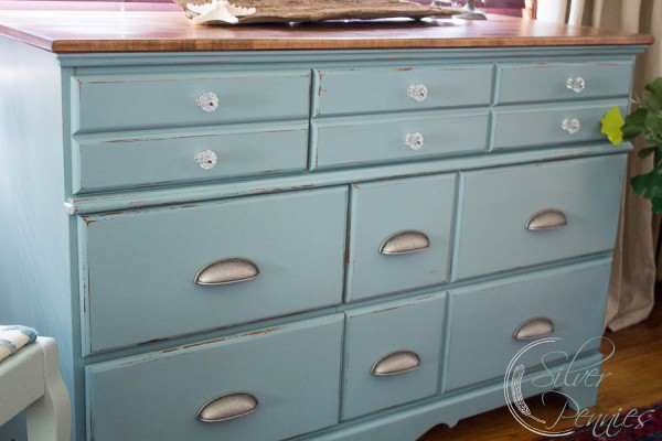Dresser painted in Heirloom