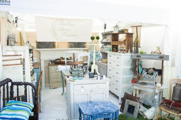 Finding Silver Pennies Booth Vintage Bazaar