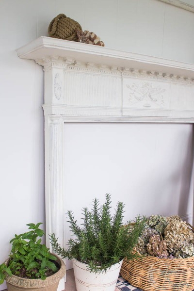 How to Create a time worn look on a mantel