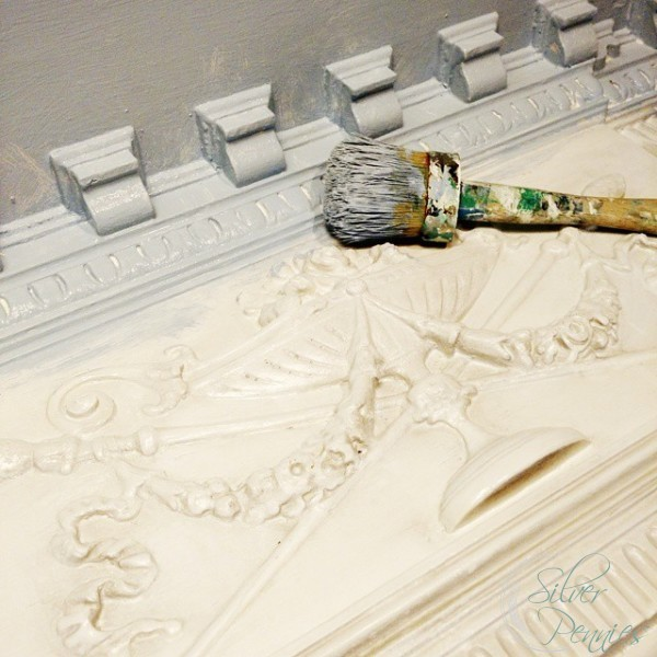 Painting Mantel
