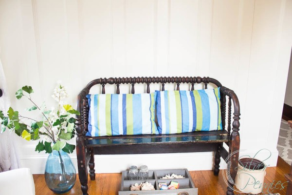 Sweet Little Upcycled Bench