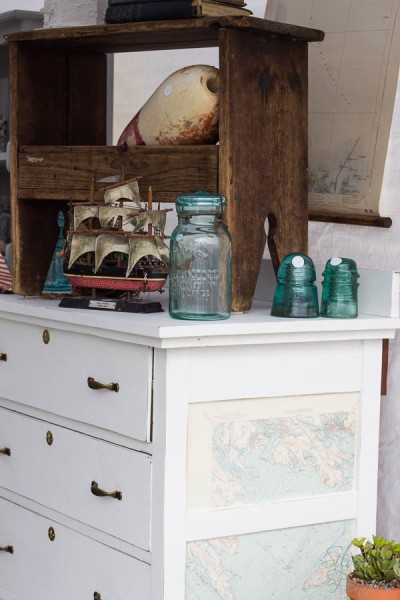 The Dylan Dresser with Nautical Elements