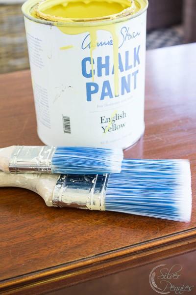 English Yellow Chalk Paint
