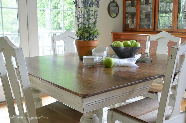 dining room table and chairs-2