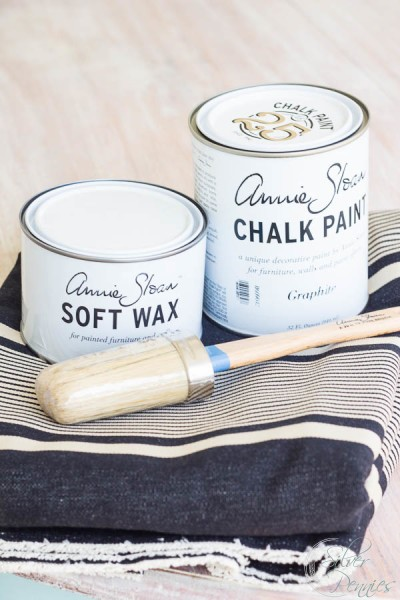 Annie Sloan Paint and Fabric