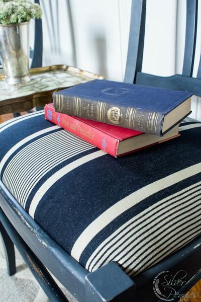 Books on fabric