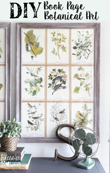 DIY-Book-Page-Botanical-Art-648x1024