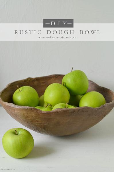 DIY Dough Bowl anderson + grant