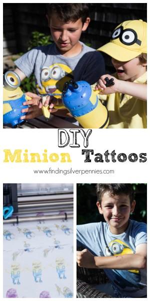 DIY Minion Tattoos