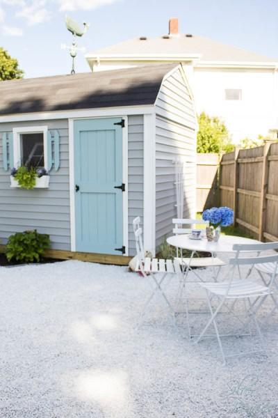 Front door and patio set
