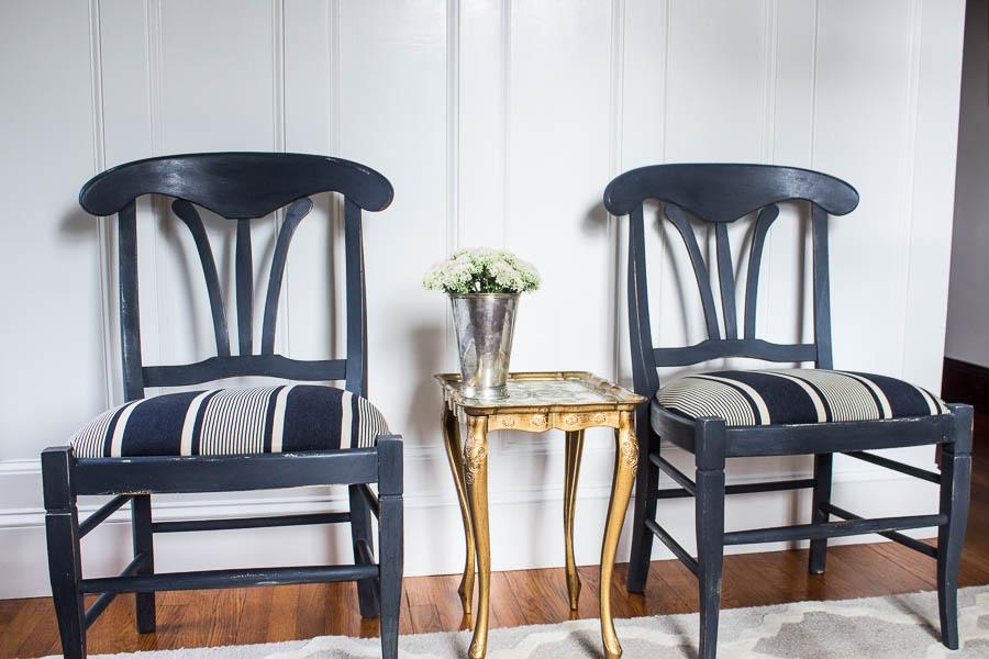 Graphite Chalk Paint Chairs