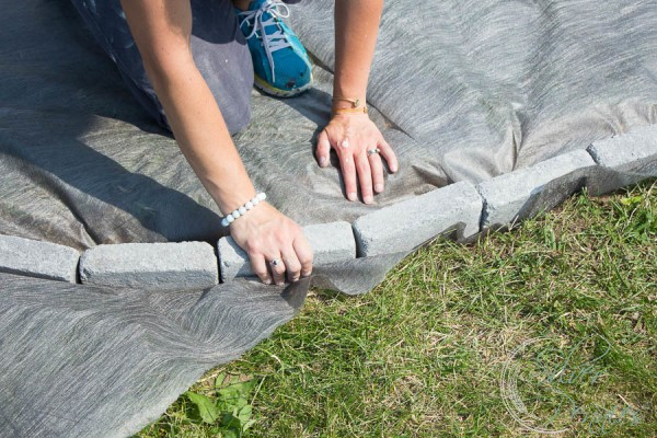 She Shed Diy Gravel Patio Finding Silver Pennies