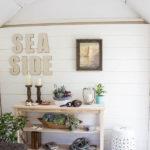 She Shed: DIY Shiplap Walls