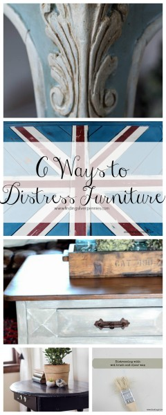 Six Ways to Distress Furniture