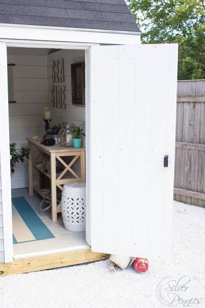 Step inside the she shed