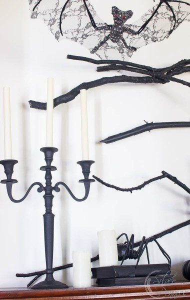 Branches and candelabra