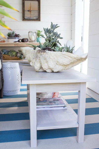 She Shed: DIY Coastal Coffee Table