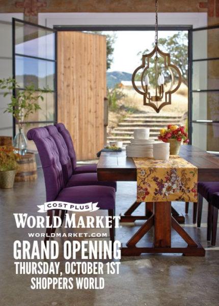 Cost Plus World Market Grand Opening