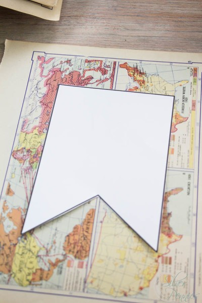 Creating Penants from Map Pages