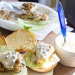 Crispy Cod Sandwiches