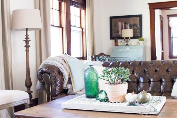 Fall Home Tour Living Room Finding Silver Pennies