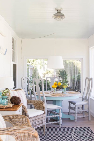 Fall Home Tour Sunroom in Autumn Finding Silver Pennies