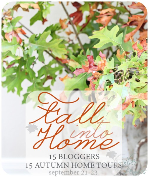 Fall into Home Tour sign