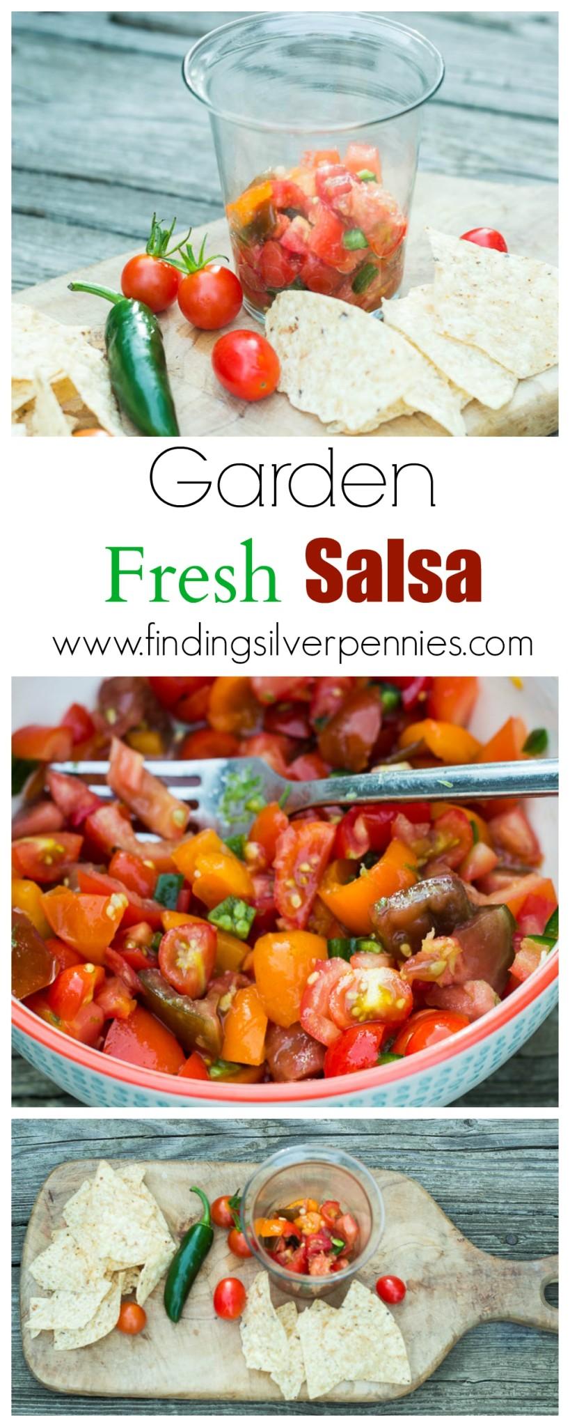 Garden Fresh Salsa How to Make It