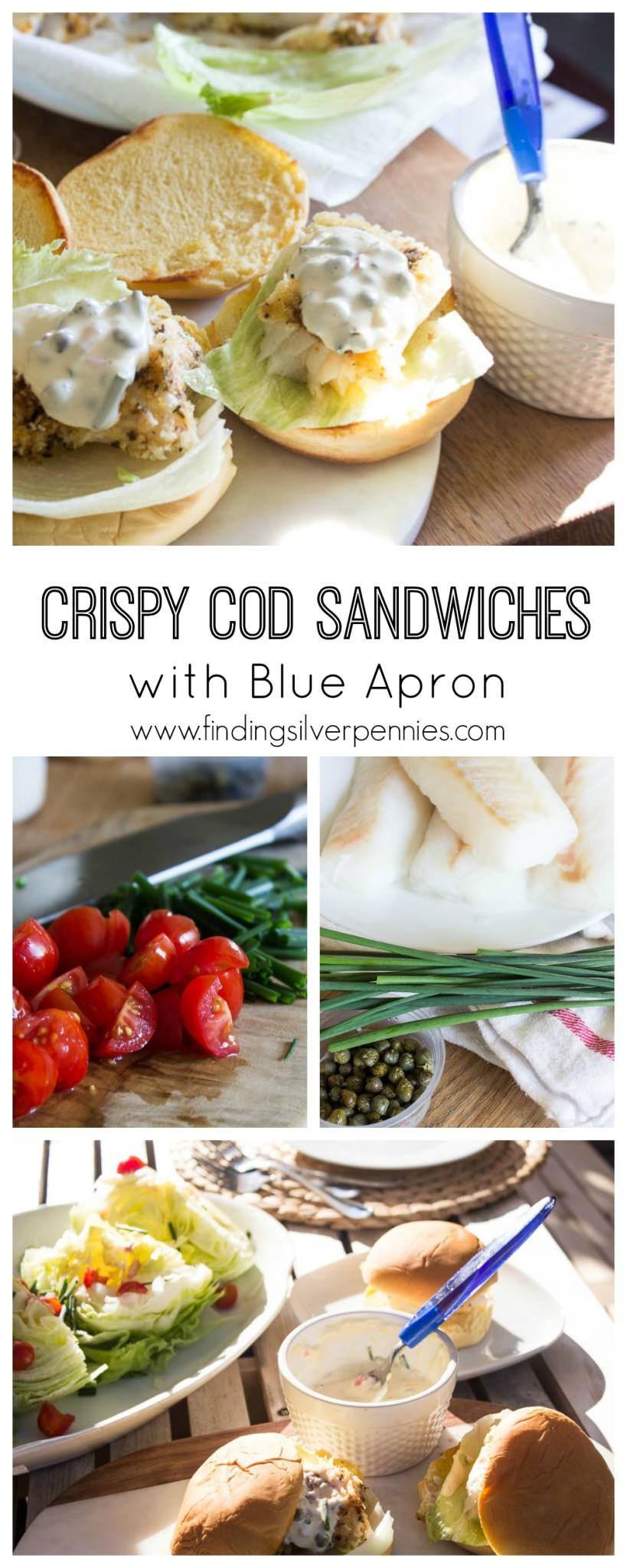 How to Make Crispy Cod Sandwiches