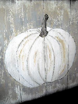 Pallet Pumpkin Board