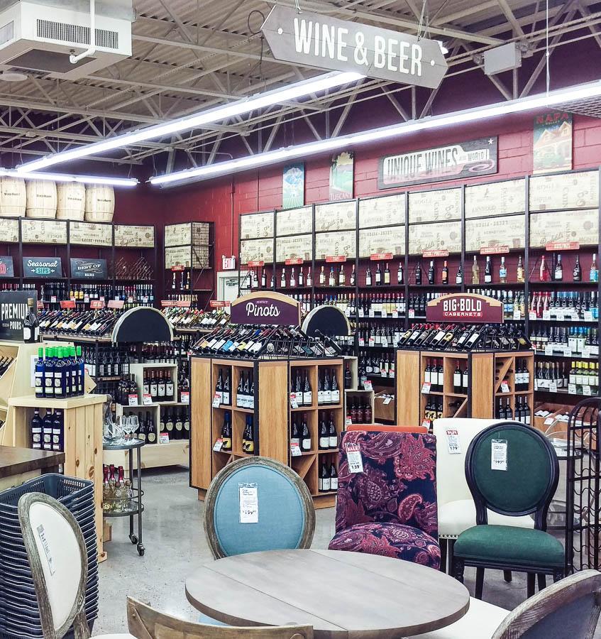Wine Selection World Market Framingham Store