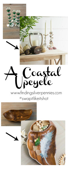A Coastal Upcycle by Finding Silver Pennies