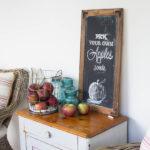 Fall ChalkBoard Art and Free Printable (Seasons of Home)