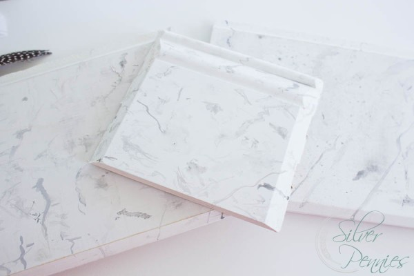 Sample boards Faux Marble Finish